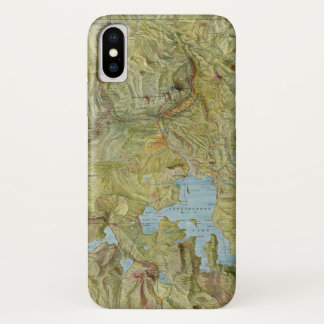 Coque iPhone X Parc national 2 de Yellowstone