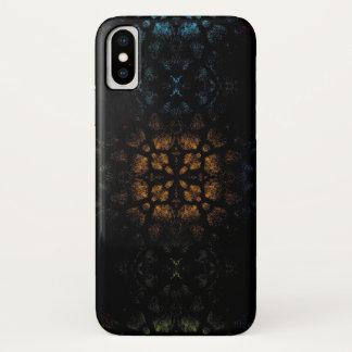 Coque iPhone X Peau animale de fourrure de léopard d'art