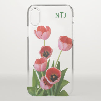 Coque iPhone X Personnalisez :  Dentelez la photographie florale