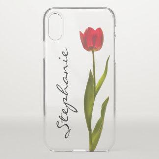 Coque iPhone X Personnalisez :  Une photographie florale de