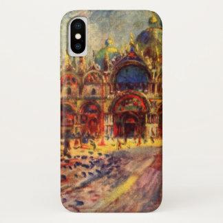 Coque iPhone X Piazza San Marco, Venise par Pierre Renoir
