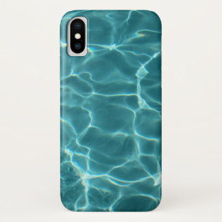 Coque iPhone X Piscine