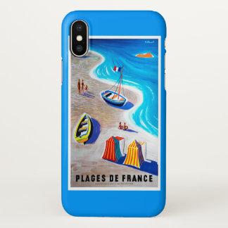 Coque iPhone X Plages de cas de l'iPhone X de la France