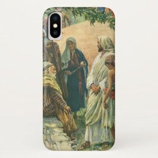 Coque iPhone X Religion vintage, travaillant au sabbat à côté