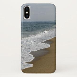 Coque iPhone X Ressacs sur la plage