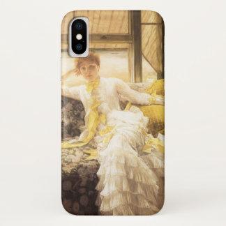 Coque iPhone X Ressort (bord de la mer) par James Tissot,