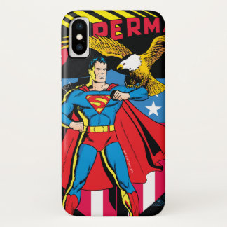 Coque iPhone X Superman #14