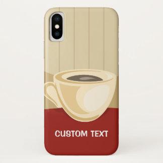 Coque iPhone X Tasse de café