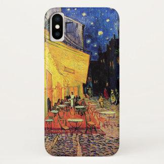 Coque iPhone X Terrasse de café de Van Gogh sur Place du Forum,