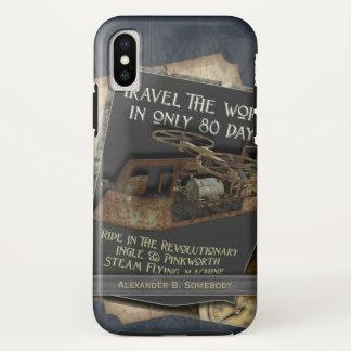 Coque iPhone X Transports aériens rouillés drôles de machine de