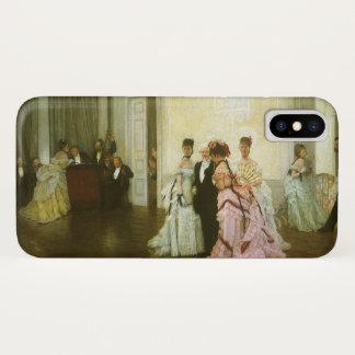 Coque iPhone X Trop tôt par James Tissot, art victorien vintage