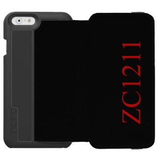 Coque iphone Zacrius1211 Coque-portefeuille iPhone 6 Incipio Watson™