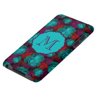 Coque iPod Case-Mate Monogramme audacieux génial de motif de roses