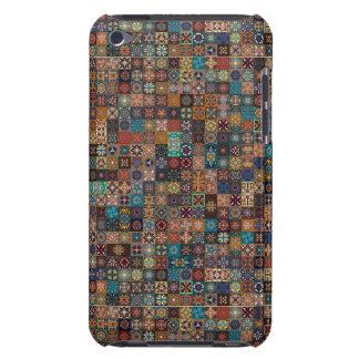 Coque iPod Case-Mate Patchwork vintage avec les éléments floraux de
