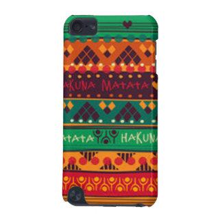 Coque iPod Touch 5G Africain coloré aucune typographie d'inquiétudes