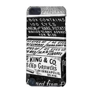Coque iPod Touch 5G Annonce vintage étrange de pomme de terre
