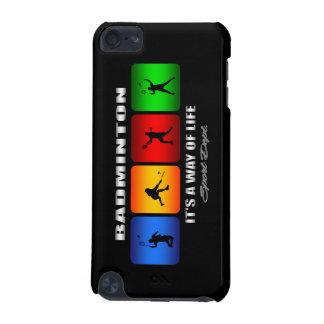 Coque iPod Touch 5G Badminton frais c'est un mode de vie