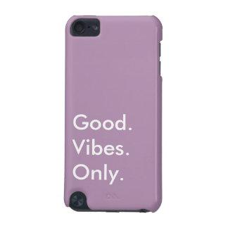 Coque iPod Touch 5G Bon. Vibraphone. Seulement. Blanc et pourpre