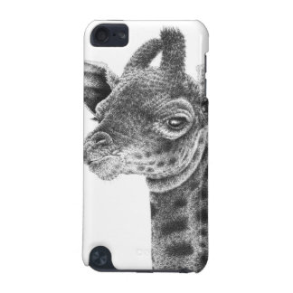Coque iPod Touch 5G Caisse de point de girafe de bébé