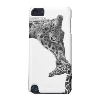 Coque iPod Touch 5G Caisse de point de girafe et de veau