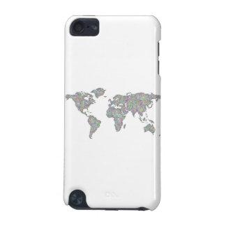 Coque iPod Touch 5G Carte du monde
