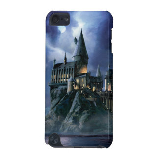 Coque iPod Touch 5G Château | Hogwarts éclairé par la lune de Harry