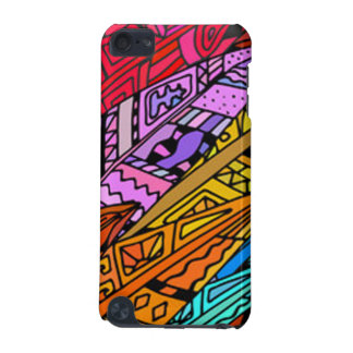 Coque iPod Touch 5G Conception africaine colorée