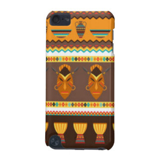 Coque iPod Touch 5G Conception africaine d'impression de motif de
