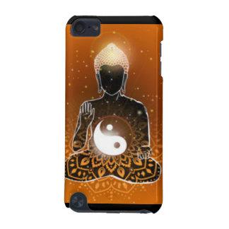 Coque iPod Touch 5G Conception de Ying Yang de méditation de Bouddha