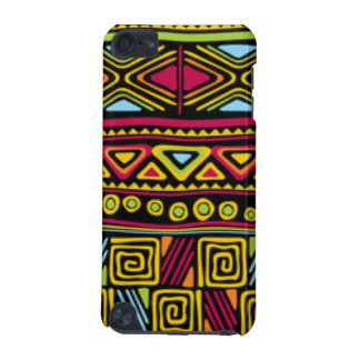 Coque iPod Touch 5G Conception multi africaine d'impression de motif
