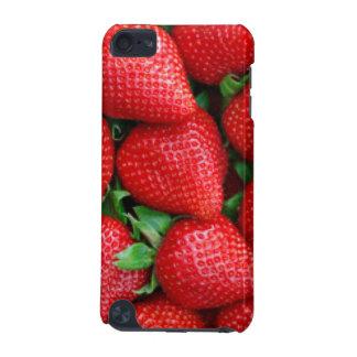 Coque iPod Touch 5G Conception rouge de motif de fraises