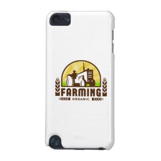 Coque iPod Touch 5G Crête d'agriculture biologique de blé de tracteur