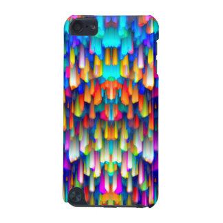 Coque iPod Touch 5G éclaboussement coloré d'art numérique de cas du