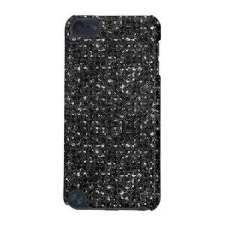 Coque iPod Touch 5G Effet noir de paillette