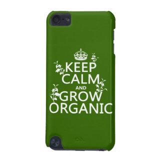 Coque iPod Touch 5G Gardez le calme et développez-vous organique