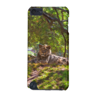 COQUE iPod TOUCH 5G LION MAJESTUEUX
