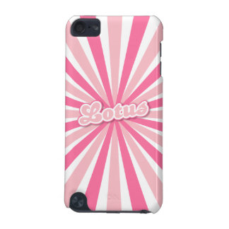Coque iPod Touch 5G Lotus rose
