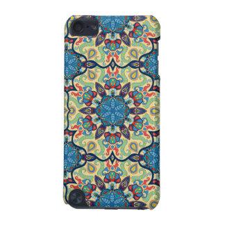 Coque iPod Touch 5G Motif floral ethnique abstrait coloré De de