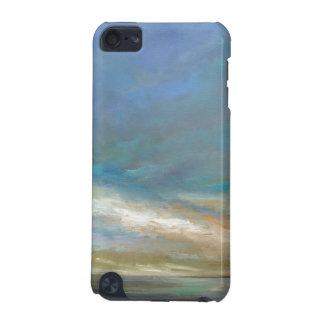 Coque iPod Touch 5G Nuages côtiers avec l'océan