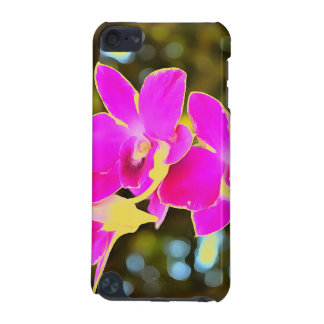Coque iPod Touch 5G Orchidée rose