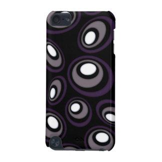 Coque iPod Touch 5G Ovales excentrés de prune et de faon rétros