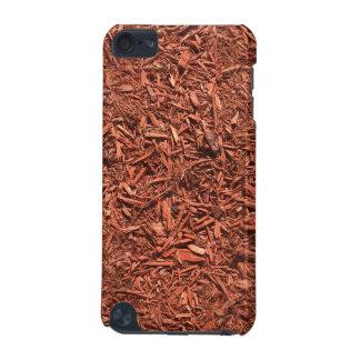 Coque iPod Touch 5G paillis détaillé de cèdre rouge pour le paysagiste