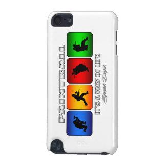 Coque iPod Touch 5G Paintball frais c'est un mode de vie