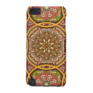 Coque iPod Touch 5G Patchwork vintage avec les éléments floraux de