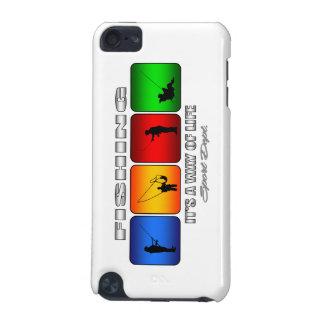 Coque iPod Touch 5G Pêche fraîche c'est un mode de vie