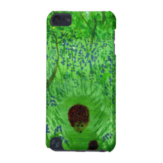 Coque iPod Touch 5G Peinture du bois de ressort de jacinthe des bois