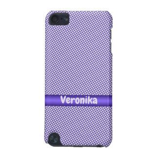 Coque iPod Touch 5G Petit modèle violet de plaid