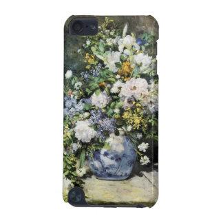 Coque iPod Touch 5G Pierre-Auguste Renoir, vase de fleurs