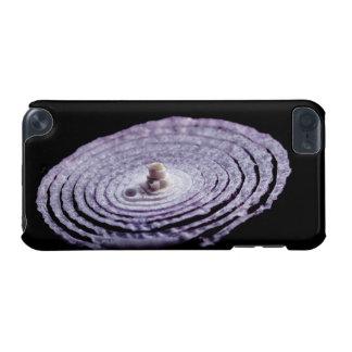 Coque iPod Touch 5G Portrait d'oignon rouge