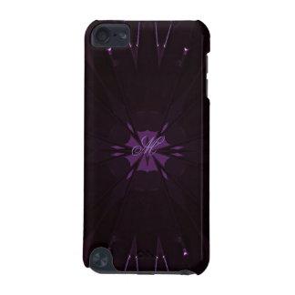 Coque iPod Touch 5G Pourpre brillant élégant chic de conception de